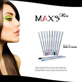 Maxsmin: Glitter Eyeliner Pen (Choose Color)