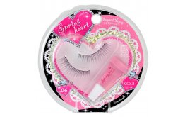 Spring Heart Eyelash Fix (Standart Natural-06)