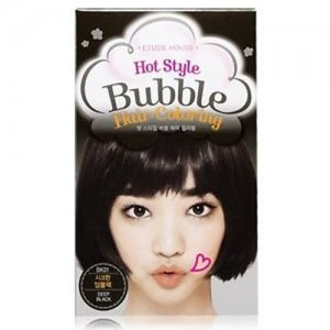 Hot Style Bubble Hair Coloring (01 Black)