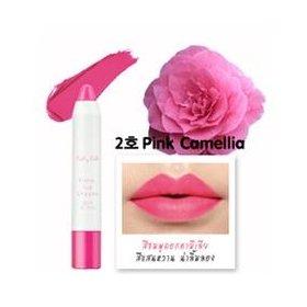 Flora Lip Crayon (Pink Camellia)