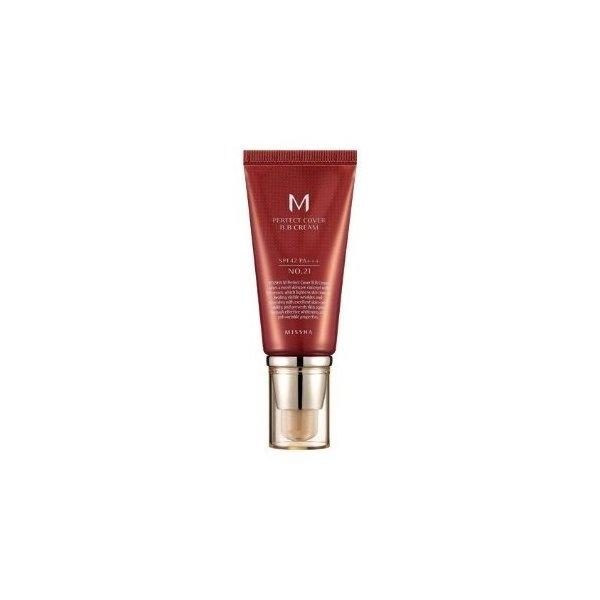 M Perfect Cover BB Cream SPF42 PA+++ (No 21-Light Beige)