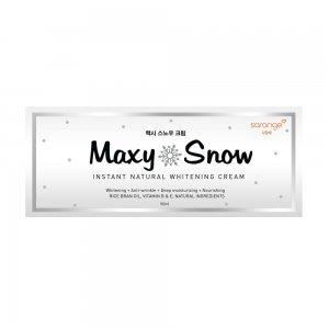Maxy Snow Natural Whitening Cream (50 ml)