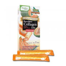 Puru Puru Collagen Jelly ( Melon Juice ) (7 Sachet)