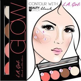 L.A. Girl Beauty Brick Blush Glow