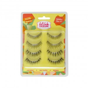 Blink Charm Eyelashes Fabulous Four 1 ( Isi 4 Pasang )