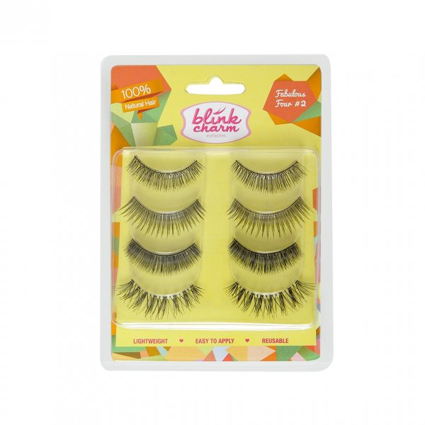 Blink Charm Eyelashes Fabulous Four 2 ( Isi 4 Pasang )