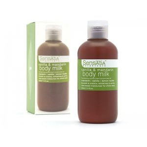 Vanilla & Mandarin Body Milk ( 220 ml )