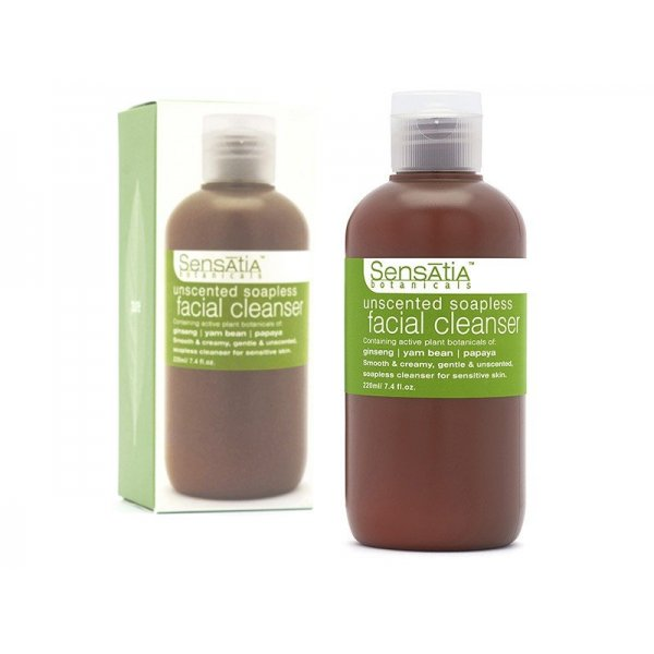 Unscented Soapless Facial Cleanser (220 ml)