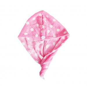 Hair Towel Cap (Pink)
