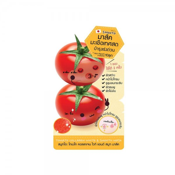 Tomato Collagen White Smooth Mask (10g)