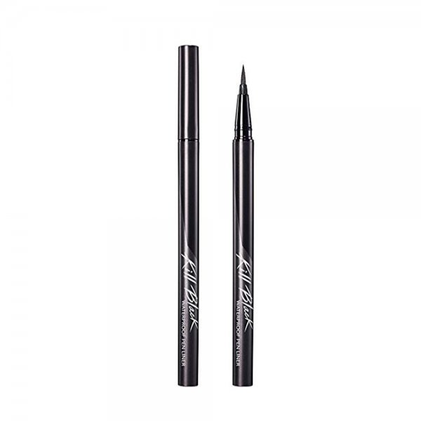 Waterproof Brush Liner Kill Black