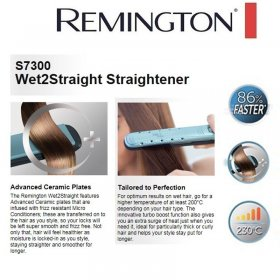 Reington Wet2Straight S7300 Hair Straightener