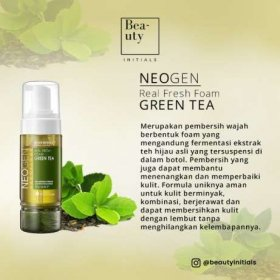 Real Fresh Foam Green Tea (160ml)