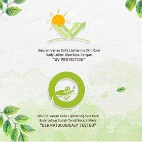 Lightening Skin Care Body Lotion - Pomegranate Bliss Scent (200ml)