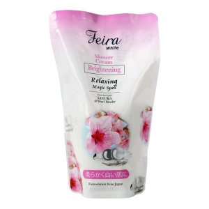 White Sakura Shower Cream Refill (450ml)