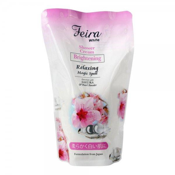 White Sakura Shower Cream Refill (450ml)