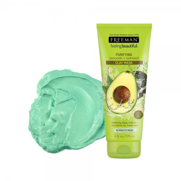 Purifying Avocado & Oatmeal Clay Mask 175ml