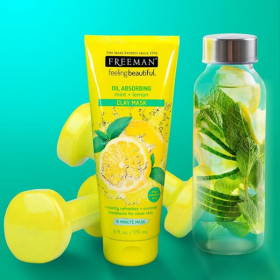 Oil Absorbing Mint & Lemon Clay Mask (175ml)