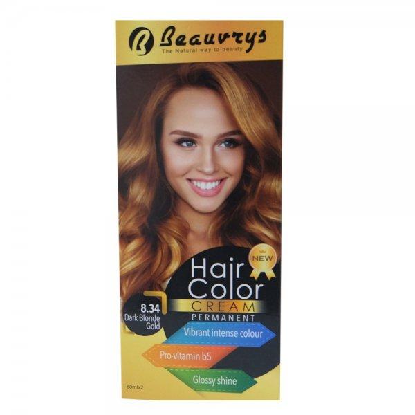 Hair Color Cream Dark Blonde Gold