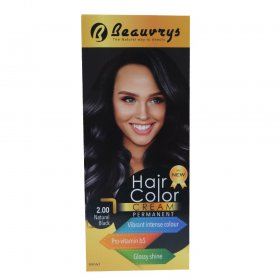 Hair Color Cream Natural Black