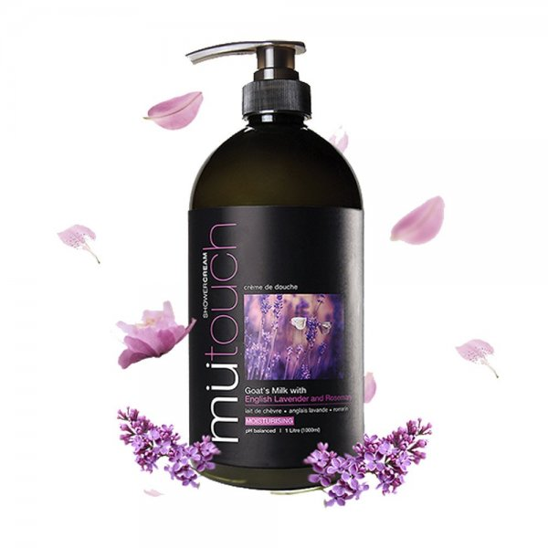 Goat's Milk Shower Cream - Lavender & Rosemary (1000ml)