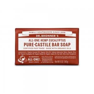 Pure Castile Bar Soap Eucalyptus (140gr)