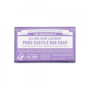 Pure Castile Bar Soap Lavender (140gr)