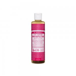 Pure Castile Liquid Soap Rose (237ml)