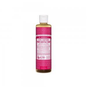 Pure Castile Liquid Soap Rose (237ml)