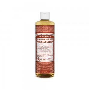 Pure Castile Liquid Soap Rose (473ml)