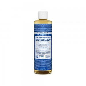 Pure Castile Liquid Soap Peppermint (473ml)