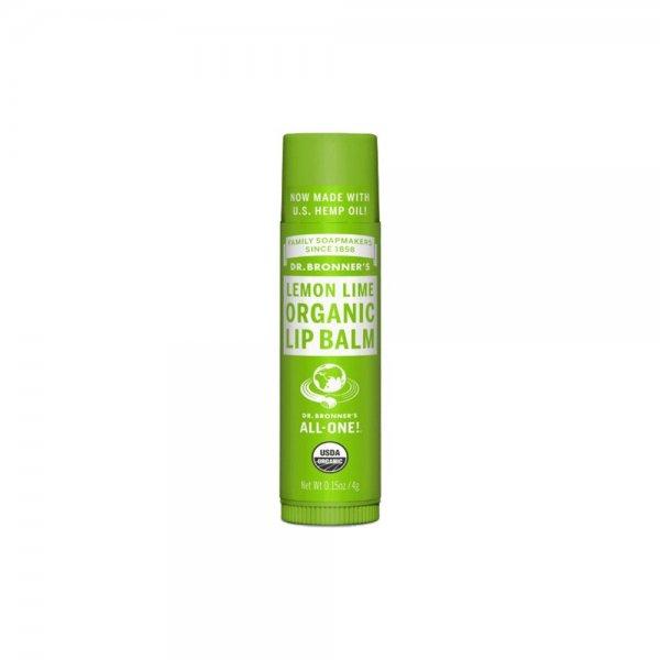 Organic Lip Balm Lemon Lime (4gr)