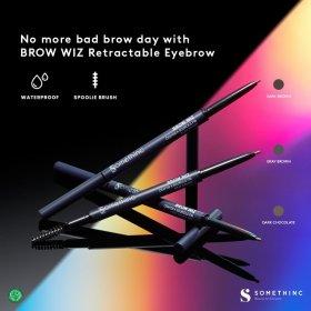 BROW WIZ Retractable Eyebrow - Gray Brown
