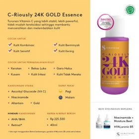 CRIOUSLY 24K GOLD Essence (40ml)