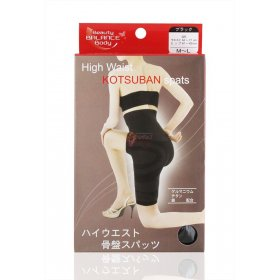 Kotsuban Spats - High Waist slimming (Black)