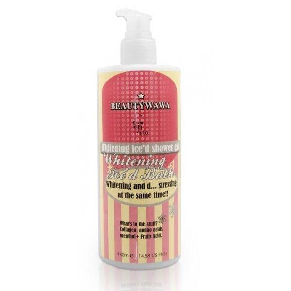 Whitening Ice'd Bath Shower Gel