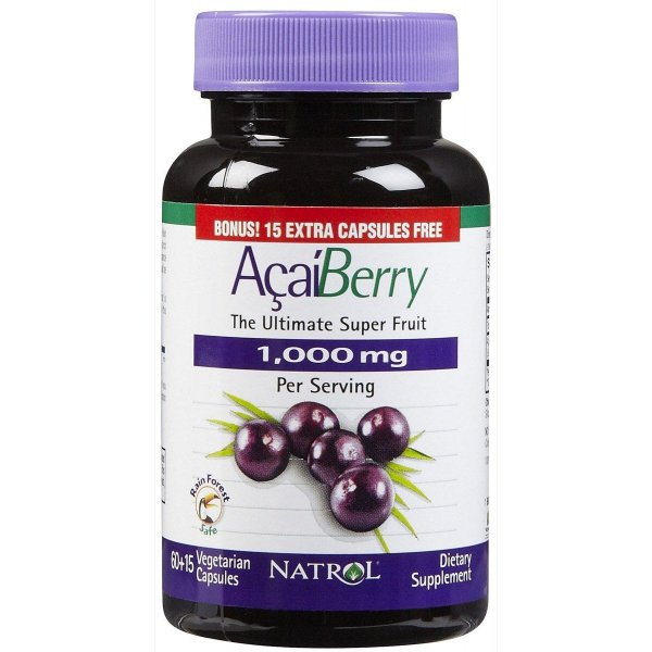 Acai Berry 1000 mg (60+15 Caps)